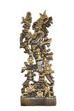 amerikansk forntida indisk totem Royaltyfri Foto