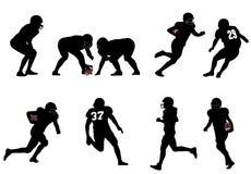 Amerikansk fotboll royaltyfri illustrationer