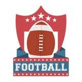 Amerikansk fotboll Arkivfoton