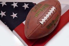 amerikansk fotboll Arkivbild