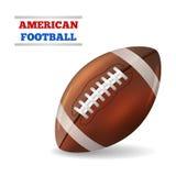 amerikansk fotboll vektor Royaltyfri Fotografi