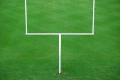 amerikansk fotbollmålstolpe Arkivbild