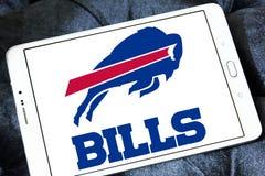 Amerikansk fotbollslaglogo för Buffalo Bills Arkivbild