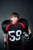 amerikansk fotbollsspelare Royaltyfri Fotografi