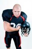 amerikansk fotbollsspelare Arkivfoto