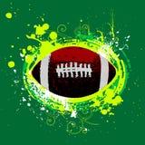 amerikansk fotbollvektor Arkivfoto