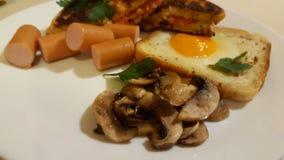 amerikansk frukost Royaltyfria Bilder