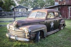 Amerikansk gammal bil arkivbilder