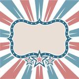 amerikansk gammal färgram Royaltyfria Foton