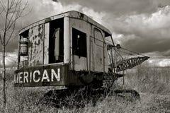 Amerikansk gammal friktionslinje royaltyfri foto
