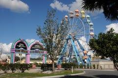 AMERIKANSK GAMMAL STAD KISSIMMEE ORLANDO FLORIDA USA arkivfoto