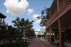 AMERIKANSK GAMMAL STAD KISSIMMEE ORLANDO FLORIDA USA Arkivfoton