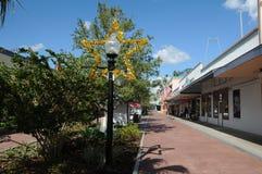 AMERIKANSK GAMMAL STAD KISSIMMEE ORLANDO FLORIDA USA Royaltyfria Bilder