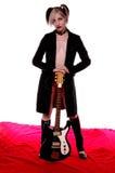 amerikansk goth royaltyfri foto