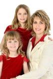 amerikansk härlig familj Royaltyfri Fotografi