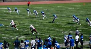Amerikansk högskolafotboll Royaltyfri Bild