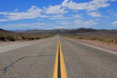 amerikansk huvudväg Arkivfoton