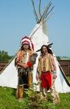 amerikansk indisk nord Royaltyfria Bilder