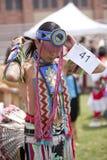 amerikansk indisk powucla-dundersuccé Arkivbild