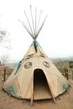 amerikansk infödd tepee Royaltyfria Bilder