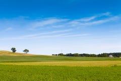 Amerikansk jordbruksmark Arkivbild