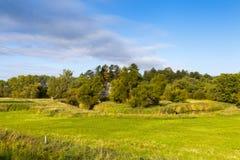 Amerikansk jordbruksmark Royaltyfria Bilder