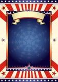 amerikansk kall flagga Fotografering för Bildbyråer
