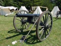 amerikansk kanoninbördeskrig Arkivbilder