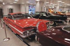 Amerikansk klassikerbilsamling Fotografering för Bildbyråer