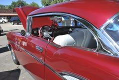 Amerikansk klassisk bil Arkivfoto