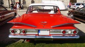 Amerikansk klassisk bil för tappning, Chevrolet Biscayne arkivbild