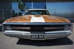 Amerikansk klassisk bil, Front View arkivbilder