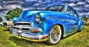 Amerikansk klassisk lyxig bil Fotografering för Bildbyråer