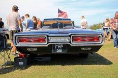 Amerikansk klassisk thunderbirdbil Fotografering för Bildbyråer