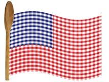 amerikansk kock royaltyfri illustrationer
