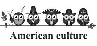amerikansk kultur Arkivfoto