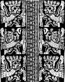 amerikansk kulturmodell Royaltyfri Illustrationer