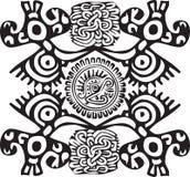 amerikansk kultursymbol Stock Illustrationer