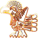 amerikansk kultursymbol Royaltyfri Illustrationer