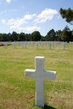 amerikansk kyrkogård arkivfoton