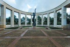 Amerikansk kyrkogård i den Normandie monumentet, Frankrike Arkivfoton