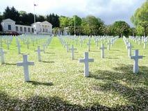 Amerikansk kyrkog?rd och minnesm?rke av Suresnes, i Frankrike, Europa royaltyfri foto