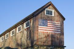 amerikansk ladugård Arkivbilder