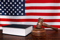 amerikansk lag royaltyfri bild