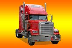 amerikansk lastbil Arkivfoto