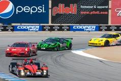 amerikansk Le Mans monterey serie royaltyfria foton