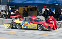 amerikansk Le Mans monterey serie royaltyfri foto