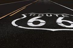 Amerikansk moderväg Route 66 Arkivfoto
