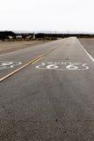 Amerikansk moderväg Route 66 Royaltyfria Bilder