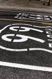 Amerikansk moderväg Route 66 Royaltyfri Fotografi